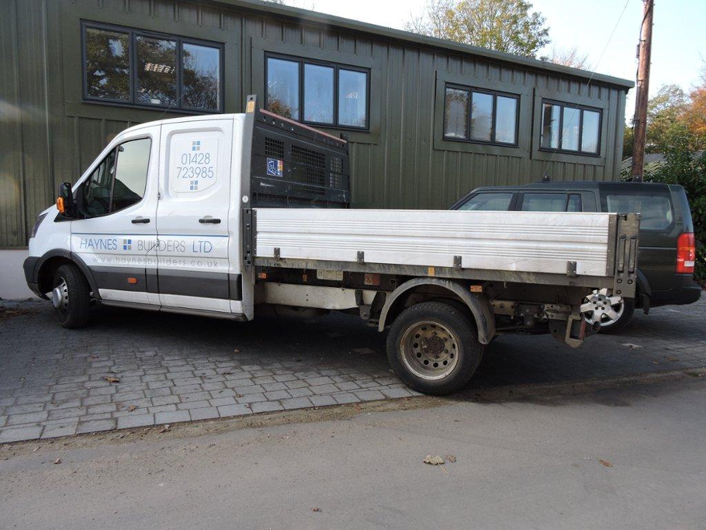 34b4a7100d A Ford Transit Tipper Truck