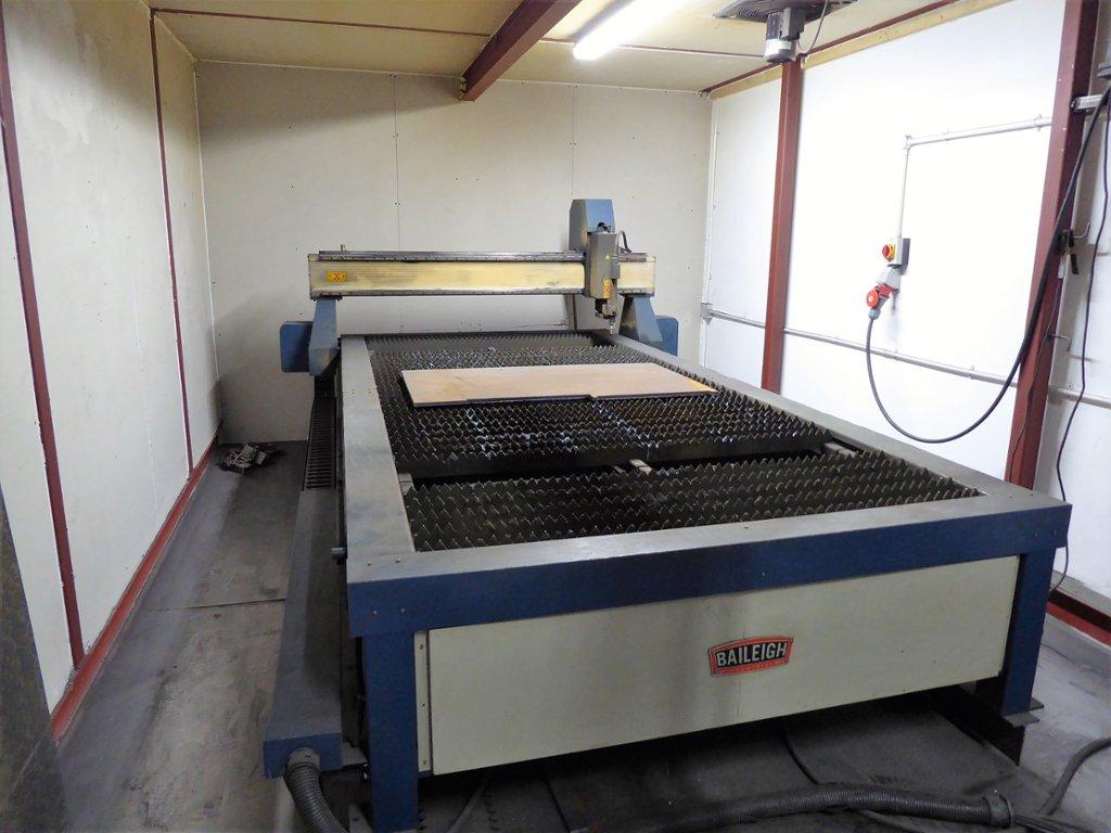 A 2013 Baileigh Industrial Pt 510hd Cnc Plasma Cutter Table